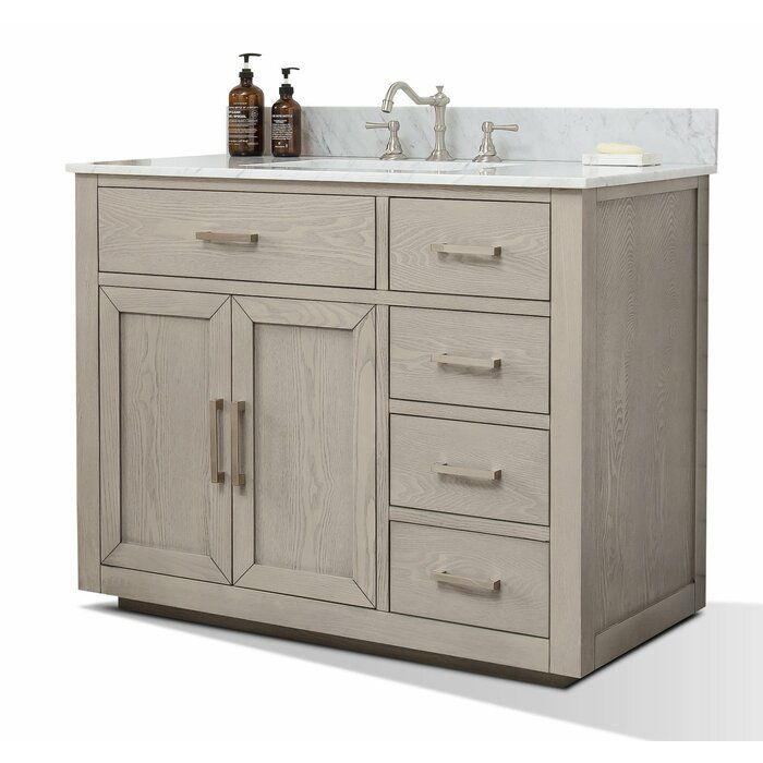 Gertz 42 Single Bathroom Vanity Set Bathroom Vanity Single Bathroom Vanity Vanity Bathroom vanity sets on sale