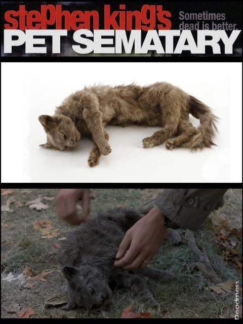 """Church"" prop from Pet Sematary . 