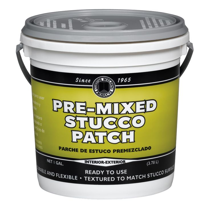 Dap 60817 1 Gallon Pre-Mixed Stucco Patch