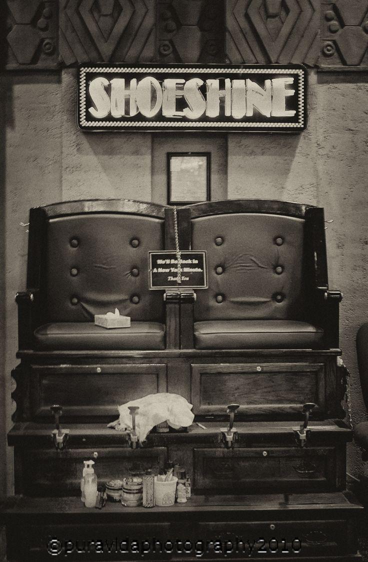 Old Fashioned shoe shine #photography #vintage