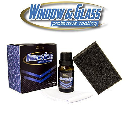 Window And Glass Ceramic Coating 15ml | Long Lasting up to 12 Months | Windshield Protection | Hydrophobic | Repel Rain and Water | UV and Thermal Resistance. For product info go to:  https://www.caraccessoriesonlinemarket.com/window-and-glass-ceramic-coating-15ml-long-lasting-up-to-12-months-windshield-protection-hydrophobic-repel-rain-and-water-uv-and-thermal-resistance/