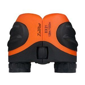 Amazon.com: Luwint 8 X 21 Orange Kids Binoculars for Bird Watching, Watching Wildlife or Scenery, Game, Mini Compact and Image Stabilized, Best Gifts for Children: Toys & Games
