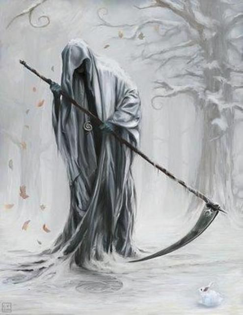 grim reaper | Grim Reaper - Monster Wiki - a reason to leave the closet closed and ...