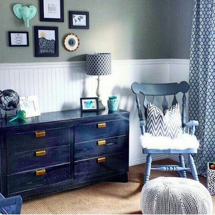 Baby Boy Nursery End Table