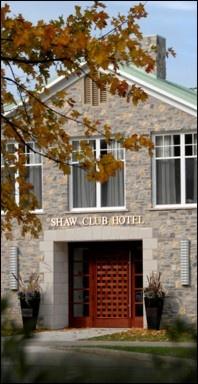 Shaw club, Niagara on the Lake.