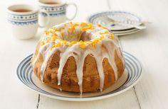 Geef de tulband een frisse smaak: maak zelf sinaasappelglazuur. Kijk hier voor het recept.