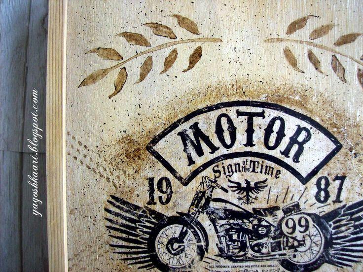 Skrzynka na wino MOTOLOVE