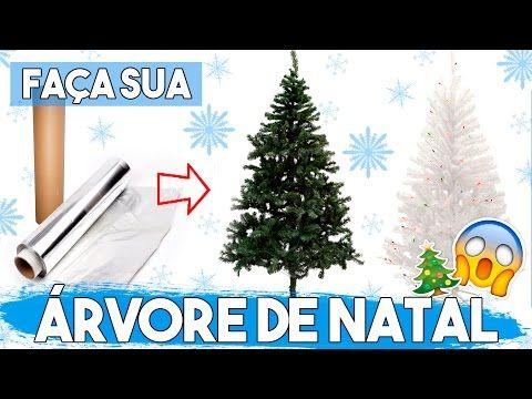 Como Fazer uma ÁRVORE DE NATAL DE VERDADE (!) 🎄 #NataldaAlê01 - YouTube