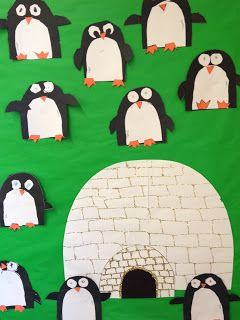 Now that it is January, it's time for all of the fun Winter units. This week, we are focusing on Penguins. I tried to incorporate a penguin...