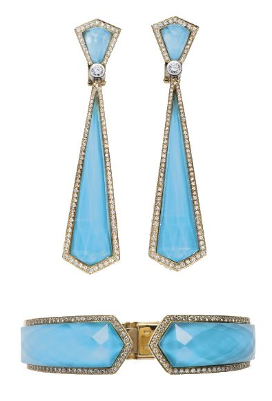 Elizabeth Taylor Turquoise Jewelry Suite    December- Turquoise