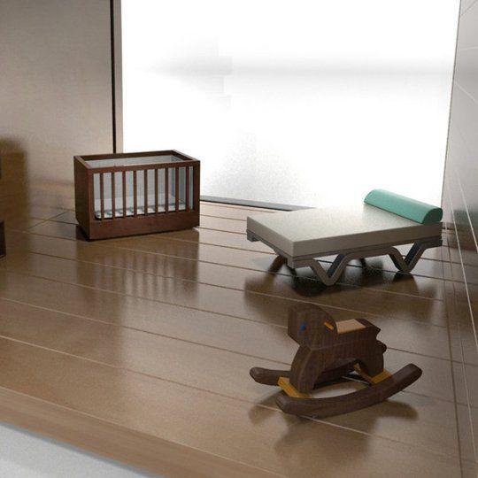 dollhouse furniture modern. modern dollhouse furniture by brinca dada l