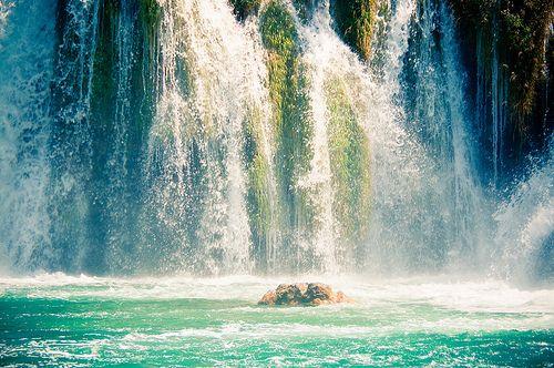 Roski Slap vízesés, Krka Nemzeti Park