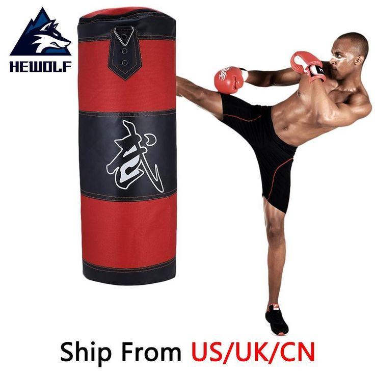 (Ship From US/UK/CN) Hewolf 70cm Sports Training Fitness EMPTY Boxing Sand Bag H  | eBay
