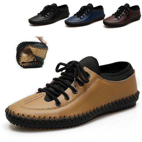 Британский Стиль Мужские Из Натуральной Кожи Повседневная Обувь для Вождения Мокасины Поскользнуться На Мокасины Мода Плоские Туфли Лучшее качество бесплатная доставка