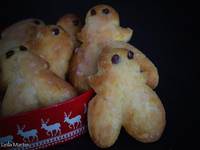D'exquis Mannele ou Mannala préparés selon une recette de Christophe Felder pour ravir petits et grands au moment de la fête de Saint-Nicolas.