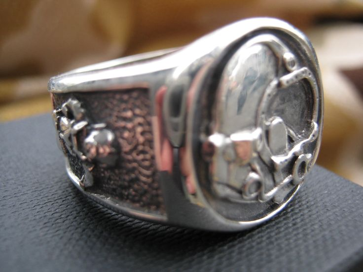 Divers Ring in Silver