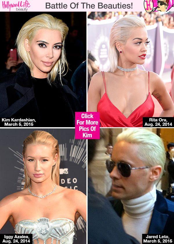 Kim Kardashian, Rita Ora, Jared Leto