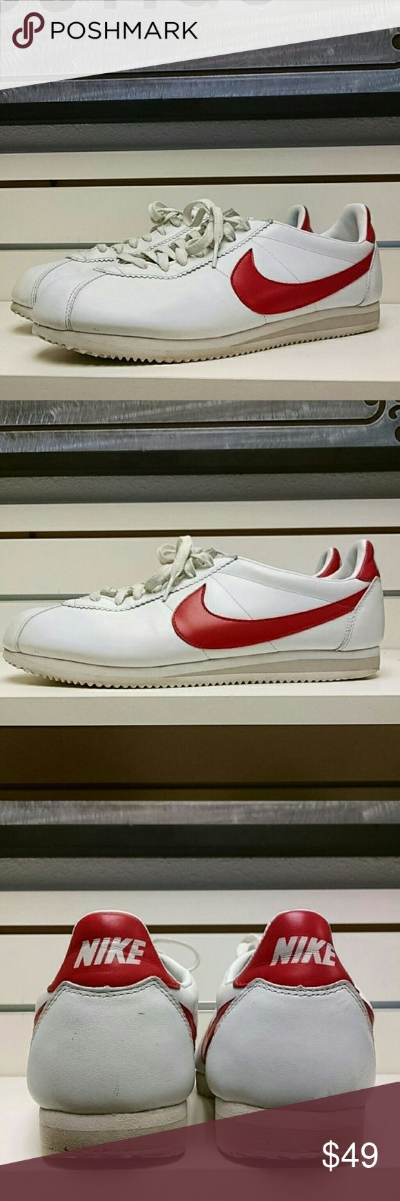 Nike Classic Cortez Leather Men's size 12 Nike Classic Cortez Leather Men's size 12. Leather uppers in excellent condition and soles only show very little wear in heels but basically in excellent condition. Nike Shoes Sneakers