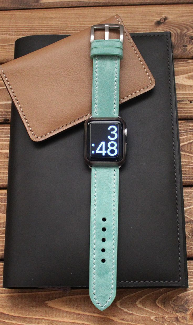 Apple Watch Band In Mint Green Iwatch 44mm 40mm 42mm 38mm Strap