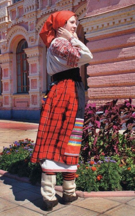 Folk costume ofVoronezhGovernorate, Russia