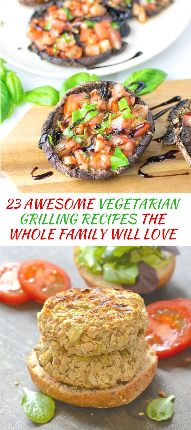 23 Awesome Vegetarian Grilling Recipes The Whole Family Will Love.Traditional cookouts are often meat-laden, but it is perfectly possible to enjoy an amazing array of grilled food with no meat involved, plus vegetarian grilling recipes have the added bonus of being healthier, more budget friendly and just as delicious.