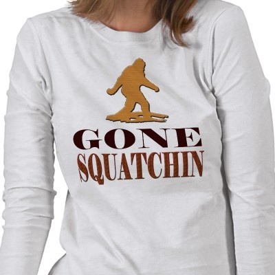 *BEST* 'Gone Squatchin', Finding Bigfoot Ladies T-Shirt!  / #Bigfoot #apparel #beauty #fashion #style #tee #funny #Quote