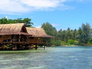 Nusa Island Retreat at Kavieng is an island paradise. Try the overwater bungalows!