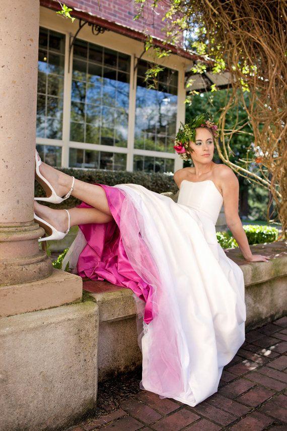 Zweiteiliges Brautkleid, Seide Taft, BLOSSOM, Corsage mit Rock, Alternative, andere Farben