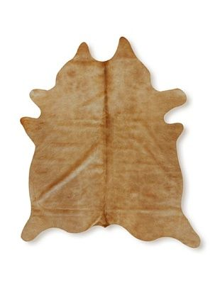 Natural Brand Geneva Cowhide Rug (Tan)