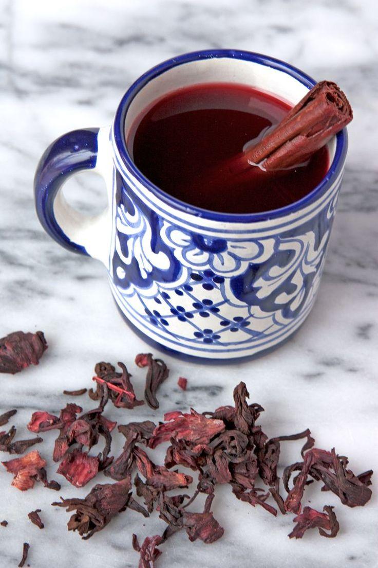 té de jamaica y canela
