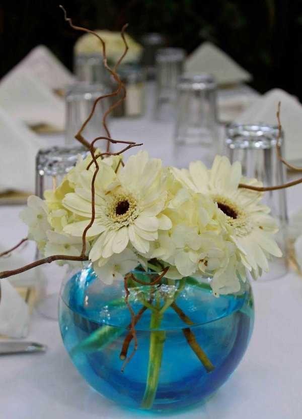 centro de mesa con frasco de vidrio buscar con google
