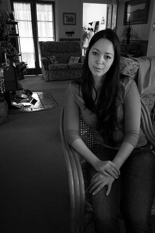 My Dear Rosanna, Christmas 2009. (sorry for all the Rosanna shots, but she's my main photography subject) :)