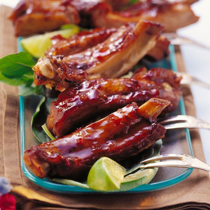 Costine di maiale glassate, la ricetta perfetta