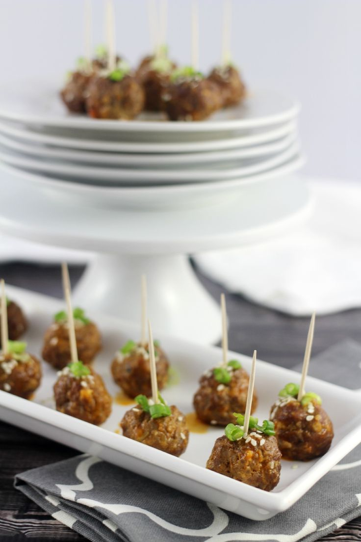 Thai Cocktail #Meatballs made with #ThaiKitchen #PremiumFishSauce by Frugal Mom Eh. These meatballs are a fab way to change up a staple appetizer. LOVE the flavours of the curry paste and fish sauce in this recipe. #Autumn #Appetizer #SlowCooker #Asian #Beef #TKEveryday