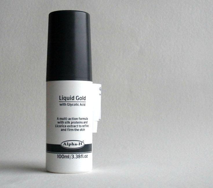 Aha peeling -  Alpha H Liquid Gold - enthält Alkohol - daher nicht für empfindliche Haut geeignet!!!, der blasse Schimmer