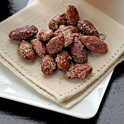 Chili-Spiced Almonds | CookingLight.com