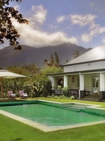 Escape to #Franschhoek in luxury - La Cle des Montagnes Villas