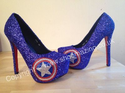 Id even settle for these. : Captain America Heel