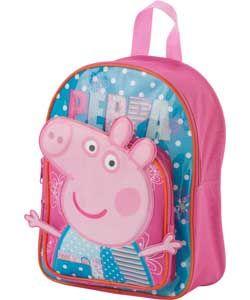 Peppa Pig Children's Backpack - Pink.