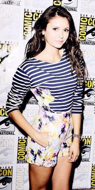 Nina Donrev. Love to floral and stripes