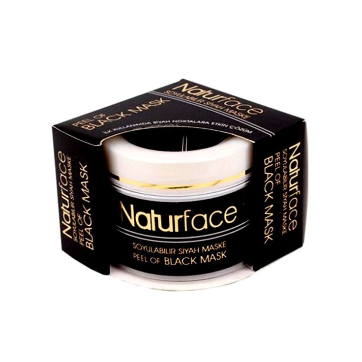 Black Mask Naturface 100ml – Α4Β | All for Beauty