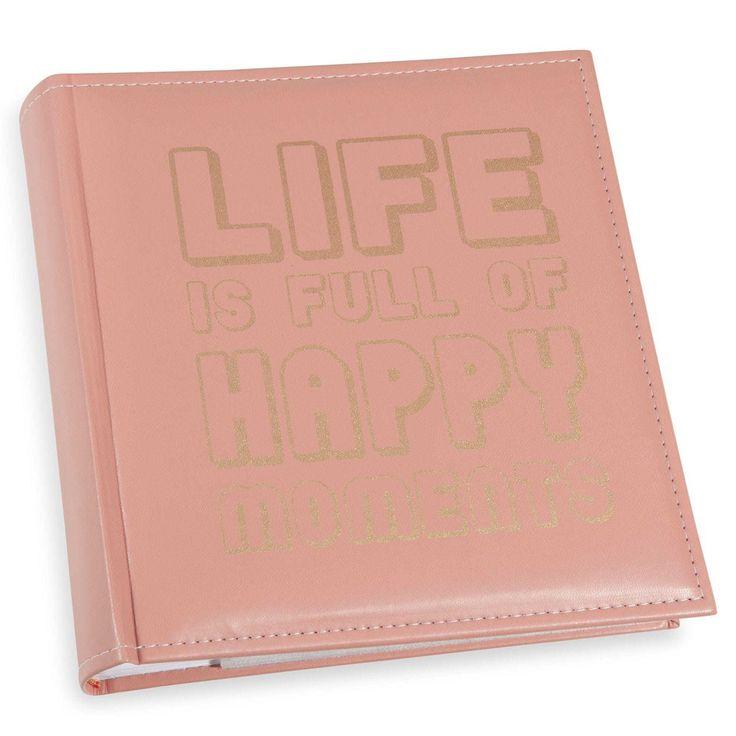 HAPPY MOMENTS photo album, 22x22cm