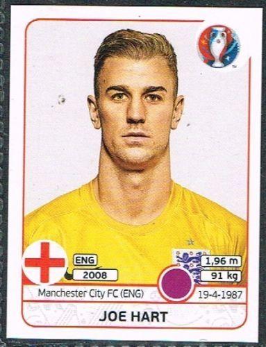 UEFA EURO 2016 Joe Hart  England - 129 #euro2016 #Hart #goalkeeper #sticker #panini