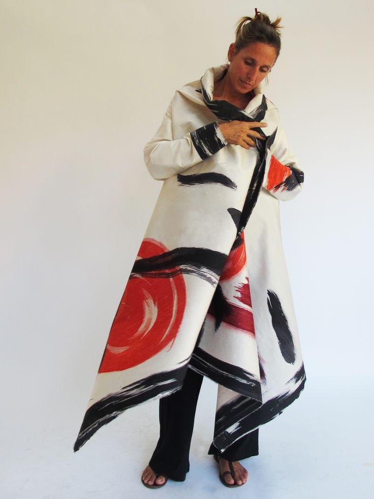 Diseño / Kima Guitart / Sedas pintadas / Museo de Artes Decorativas