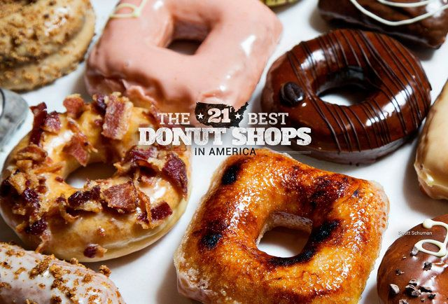 The 21 best donut shops in America ||  in case you need some sugar on your next road trip.