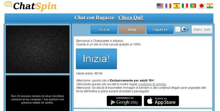 Chatroulette è dove si possono incontrare nuove persone e chattare a camma istantaneamente. Webcam chat con sconosciuti in tutto il mondo gratis! http://chatroulette.it/ #chatroulette
