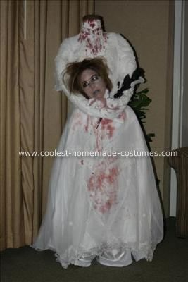 Headless Bride Halloween Costume