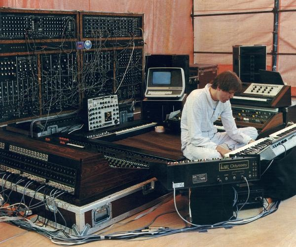 Klaus Schulze Studio 3 (Gent 1981)