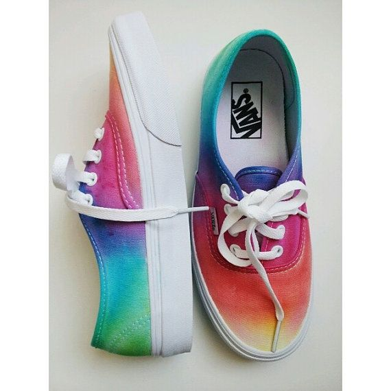 Hey, I found this really awesome Etsy listing at http://www.etsy.com/listing/160044074/tie-dye-vans-tie-dye-shoes-vans-rainbow