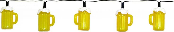 Creative Motion Industries Beer 10-Light String Light